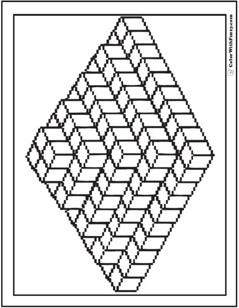 3d coloring pages 3d coloring pages collections gianfreda net