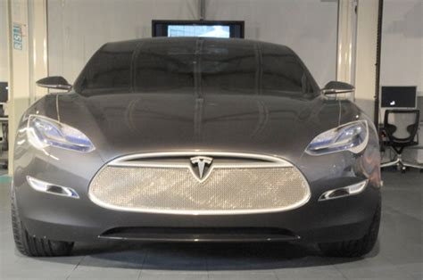 Tesla Model S Grill Tesla Model S Grill Tesla Image