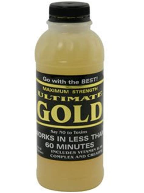 Ultimate Gold Detox Lab Test by Ultimate Gold Detox 16 Ounce Health