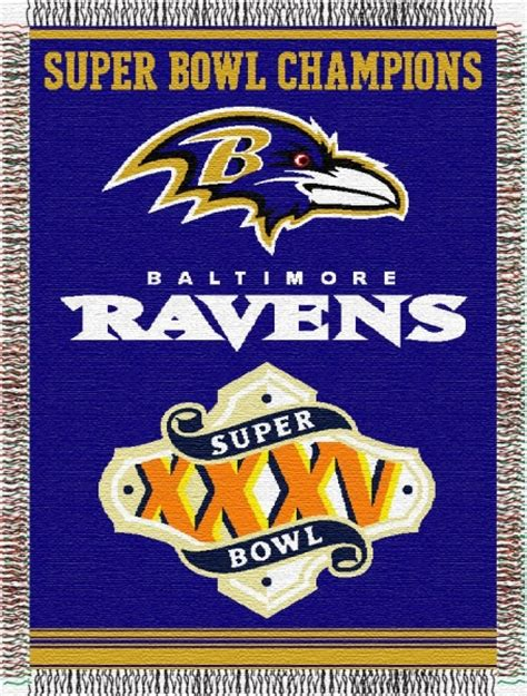 baltimore ravens l shade baltimore ravens nfl quot commemorative quot 48 quot x 60 quot tapestry throw