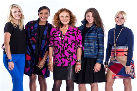 house of furstenberg design and merchandising student takes second place in house of dvf fashion