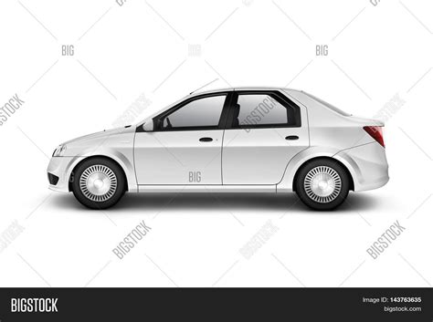 simple car template blank white car design mockup image photo bigstock