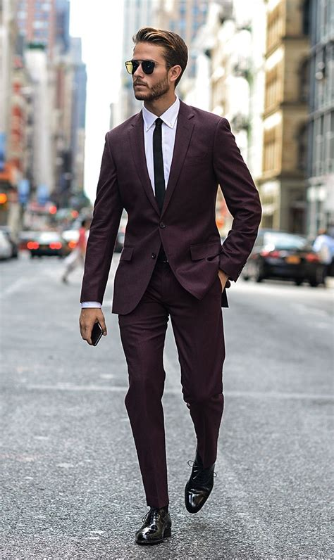 Mens What To Wearcouture In The City Fashion Blogwaistcoat And Vests by Best 25 Maroon Suit Ideas On