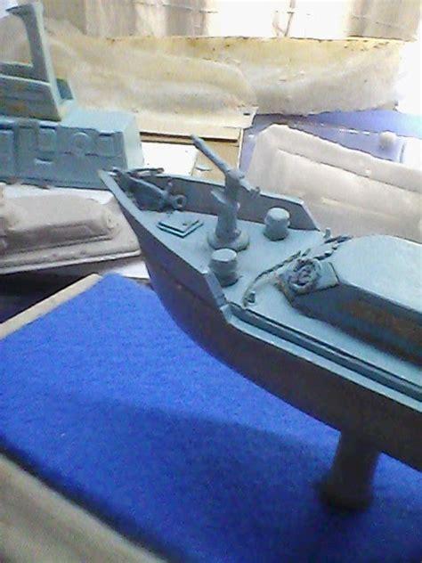 Oleh Oleh Pajangan Replika Singapore 4 maket miniatur model figur maket warship scale model