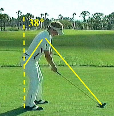 luke donald iron swing somax sports luke donald s wandering spine angle