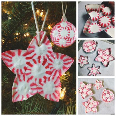 creative christmas ornaments to make creative ideas diy peppermint ornaments