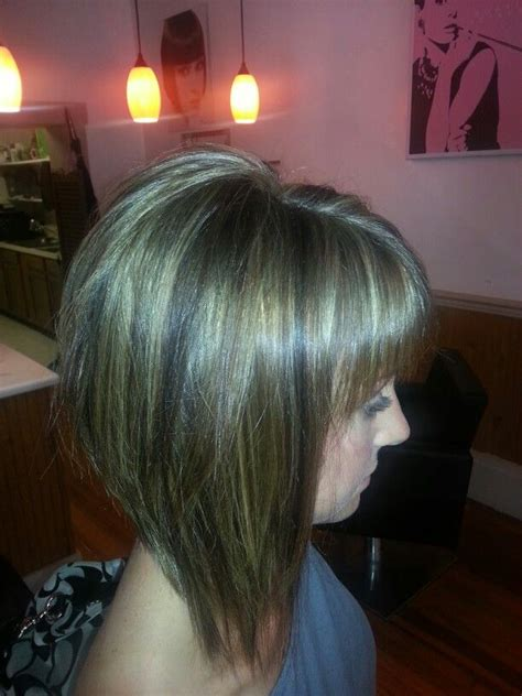 long hilighted and lolites bob 92 best images about hair on pinterest asymmetrical