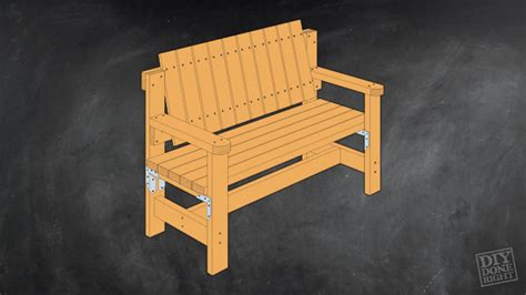 build your own outdoor bench garden bench diy done right