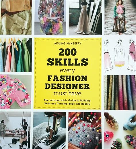 Fashion Designer Must Haves book 200 skills every fashion designer must