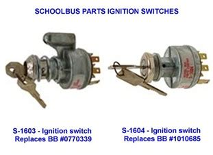 ignition switch part numbers wanderlodge owners