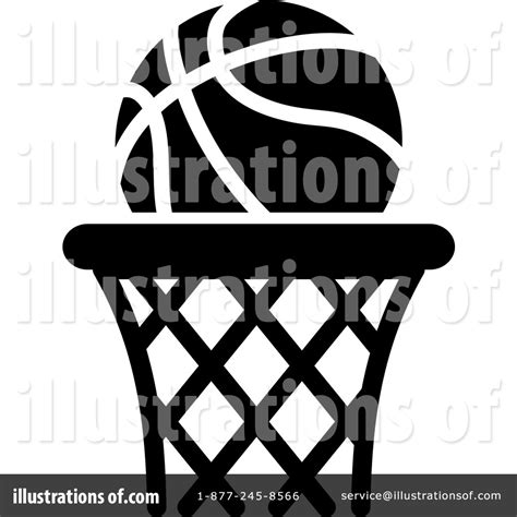 basketball clipart black and white basketball in hoop clipart black and white clipartxtras
