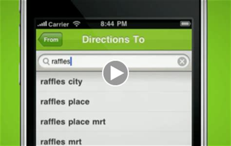 gothere.sg iphone app