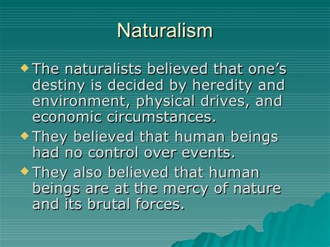 themes of realism literature realism naturalism and regionalism