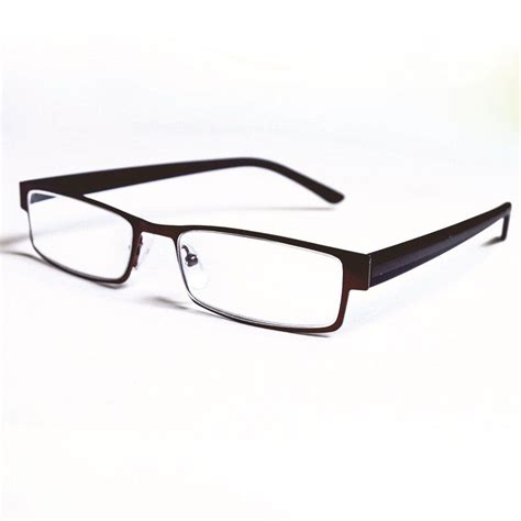 magnifeye reading glasses modern bronze 2 0 magnification