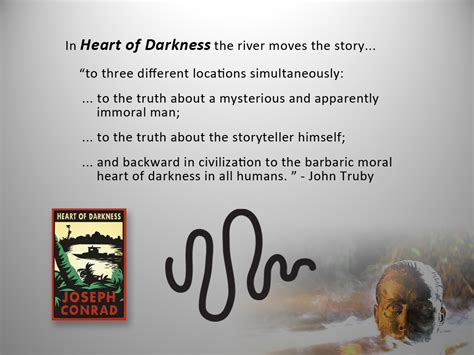 discuss the themes of heart of darkness got a designing principle ingrid sundberg