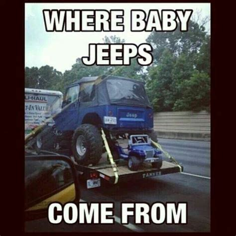 jeep baby meme pin by daniel young on jeep pinterest