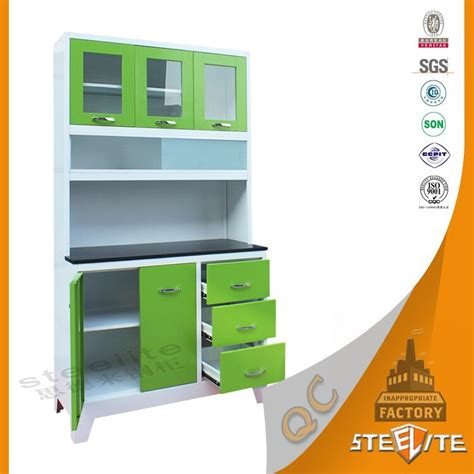 cheap kitchen cabinet sets factory price powder coating stainless steel kitchen