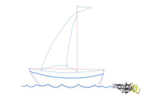 how to draw a boat simple how to draw a simple boat drawingnow