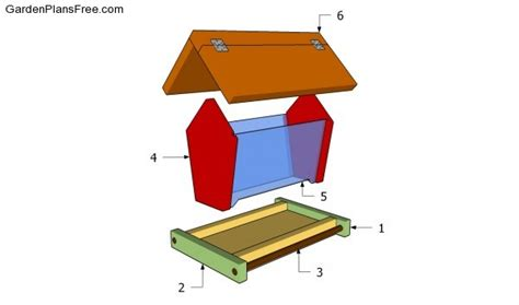 pdf diy woodworking plans bird feeders download