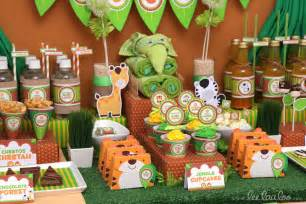 Jungle Theme Favors by Jungle Theme Baby Shower Ideas