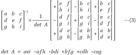 Inverse Matrix 4x4 Berechnen. inverse einer 4x4 matrix via ... C- 4x4 Matrix Inverse