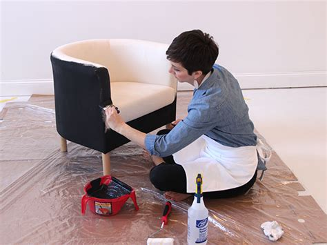 ikea chair hack how to paint a fabric chair how tos diy