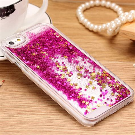 Water Glitter Redmi 3 Pro 3 S for iphone 5c new clear cellphone back cover dynamic