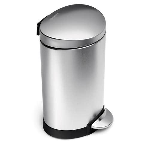 simplehuman in cabinet trash can simplehuman butterfly trash can 10 gal simplehuman 13 gal