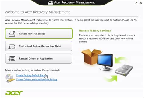acer drivers free download and install utility for acer recovery disk guide for windows xp vista 7 8