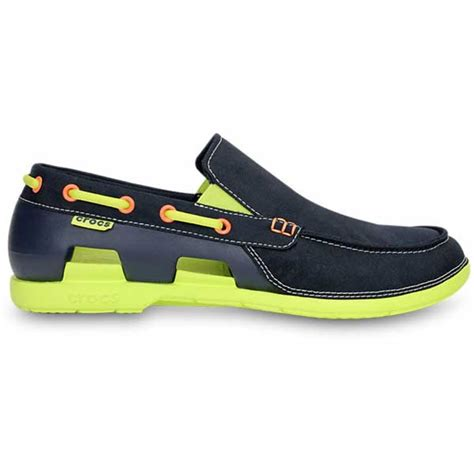 crocs men s beach line boat shoe rubber boat shoes crocs men s beach line boat shoes west marine