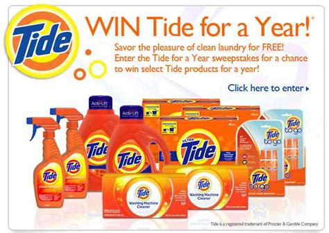 Tide Sweepstakes - tons of sweepstakes enter to win i heart publix