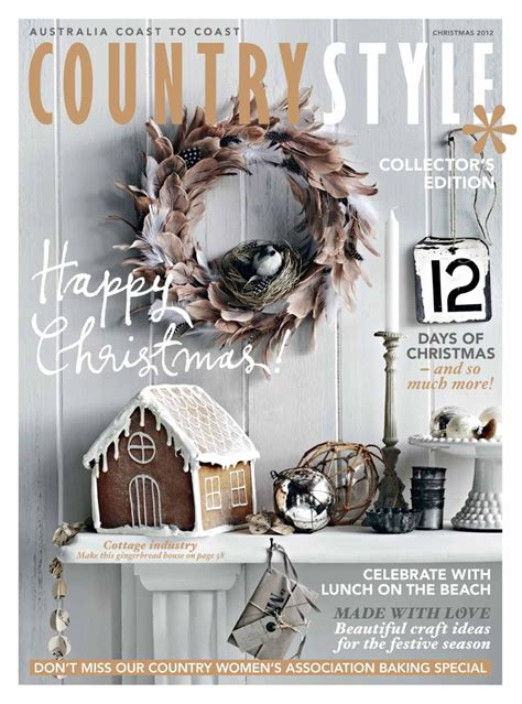 country style magazine pin by country style magazine on covers