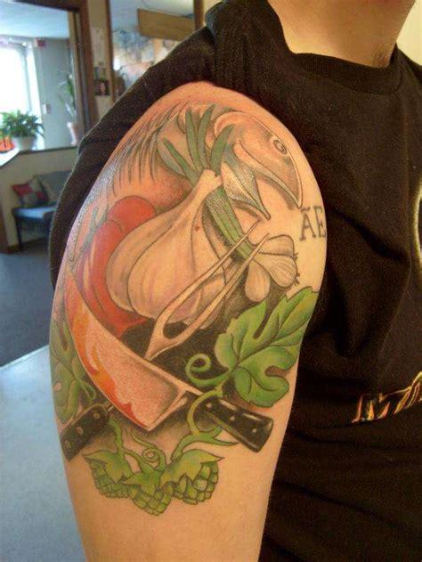 kitchen tattoo designs culinary tattoo