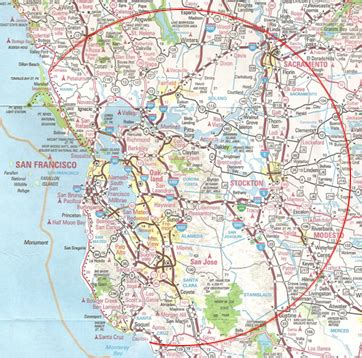 Map San Francisco Area by Greater San Francisco Map