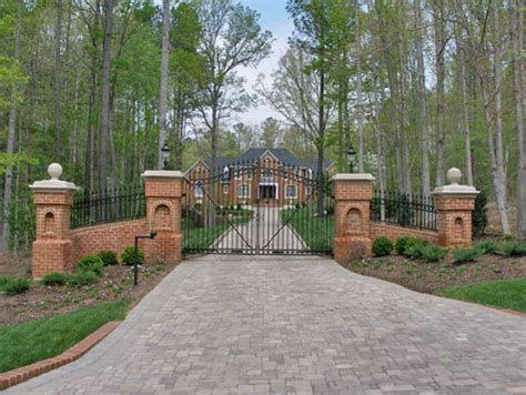 Driveway Entrance Landscaping Ideas Country Gate Entrance Designs Quotes