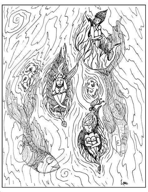 coloring pages advanced fantasy fantasy coloring pages s mac s place to be coloring 5