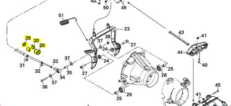 sea doo jet ski parts diagram sea doo cable lock nut repair kit jet skis