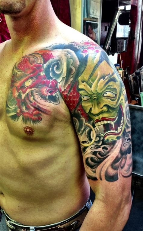 hannya mask tattoo back piece 39 best images about hannya mask tattoos on pinterest