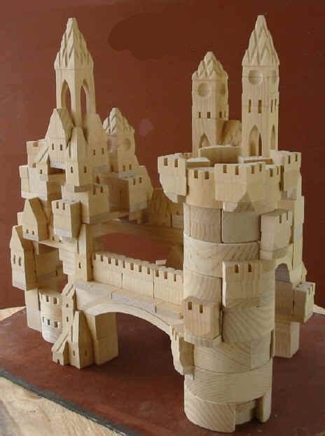 piece deluxe castle building block
