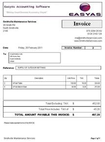 Small Business Invoice Template Business Invoice Template Invoice Example