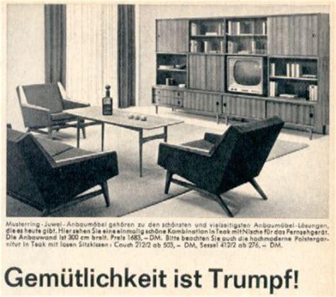 wohnzimmer 60er stil wohnstil 60er jahre