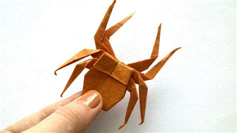 How To Make Spider Origami - origami spider origami tutorial paper spider