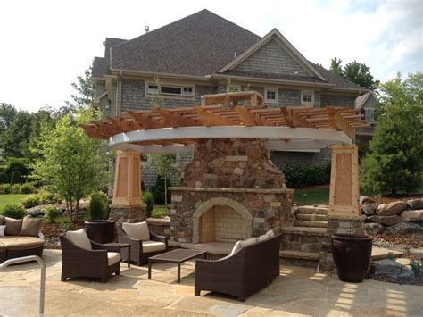 outdoor stone wood burning fireplace kits outdoor stone fireplace makes your garden a cozy place