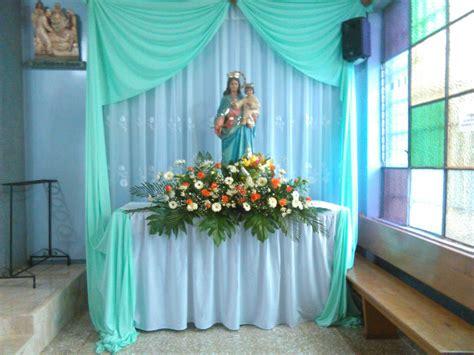 arreglo del templo para la celebracion de unm pin de rosario baide en altares pinterest altares