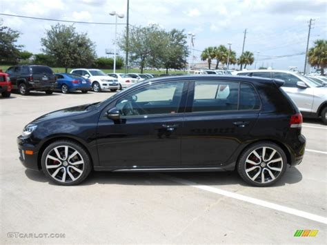 black volkswagen golf volkswagen golf gti 2013 black www imgkid com the