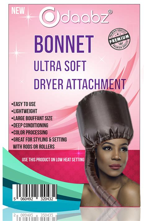 Hat Hair Dryer portable soft hair drying salon cap bonnet hat