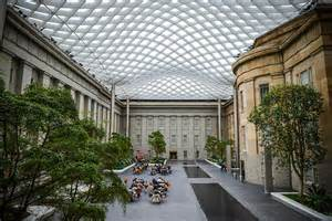 What Is A Courtyard by Kogod Courtyard National Portrait Gallery