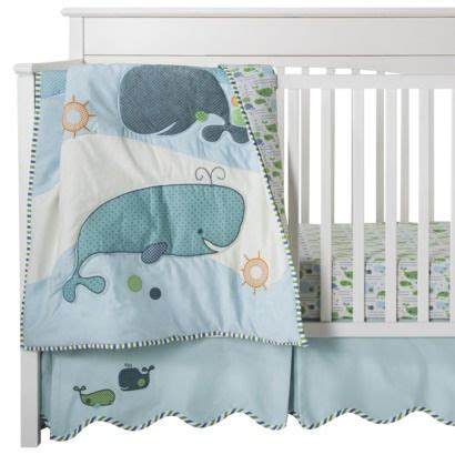 whale baby bedding migi migi little whale 3 pc crib set cutest bedding set