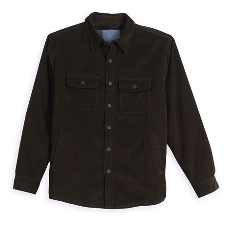 Fleece Lined Corduroy Jacket covington fleece lined corduroy shirt jacket