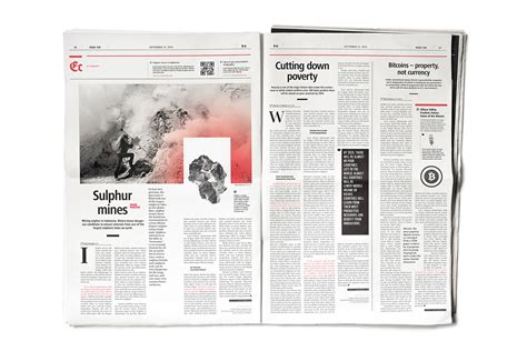 layout newspaper design daily news newspaper on behance